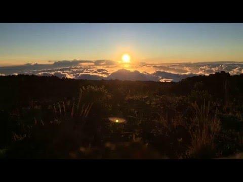 Haleakala National Park Sunset Time Lapse