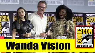 WANDA VISION | 2019 Marvel Comic Con Panel (Elizabeth Olsen, Paul Bettany, Teyonah Parris)