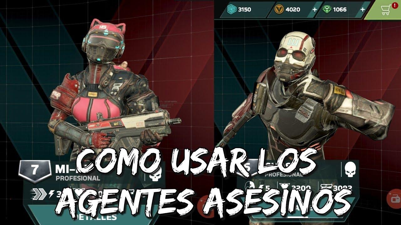 Download COMO USAR A LOS AGENTES ASESINOS   Modern Combat Versus (Español)