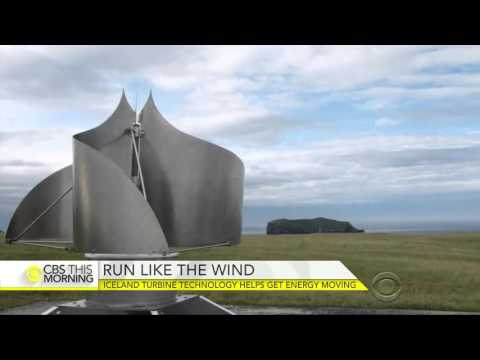 Unique turbine technology in Iceland helps move energy