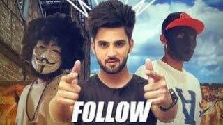 Follow lyrics - Punjabi Songs | Inder Chahal Feat. Whistle | (Whatsapp status)