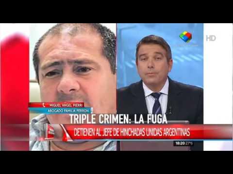 Triple Crimen: Detuvieron al jefe de Hinchadas Unidas Argentinas