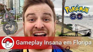 Gameplay INSANA em Florianópolis/SC - Pokémon GO