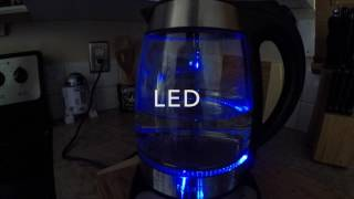ONE YOU TEA - PRODUCT REVIEW - CHEFMAN PRECISION  ELECTRONIC GLASS KETTLE