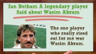 Tribute to wasim akram the sultan of ...