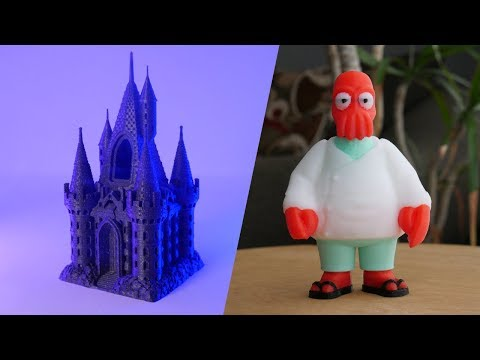 Top 8 3D Printed Things TimeLapse Episode 24 Prusa MK3S octolapse octopi