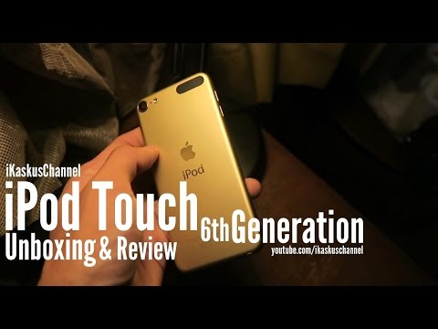 Gold iPod Touch 6th Generation Unboxing Indonesia - iDevice.id