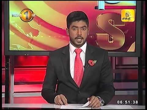 News1st Prime Time News Sunrise Shakthi TV 08th November 2016