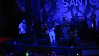 """Karamelo Santo """"Nunca - Los Dueños del Pabellon"""" con Pablo Lescano en Salón Rock Sur (09-10-09)"""