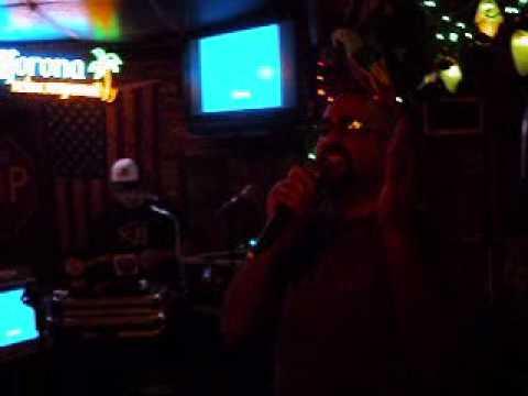 """""""Brim Full of Asha"""" by Cornershop, performed by Moe @ 7 Seas Karaoke, Miami"""