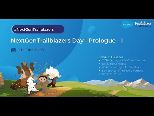 NextGenTrailblazers Day - Prologue 1 | Intro & Kick Off