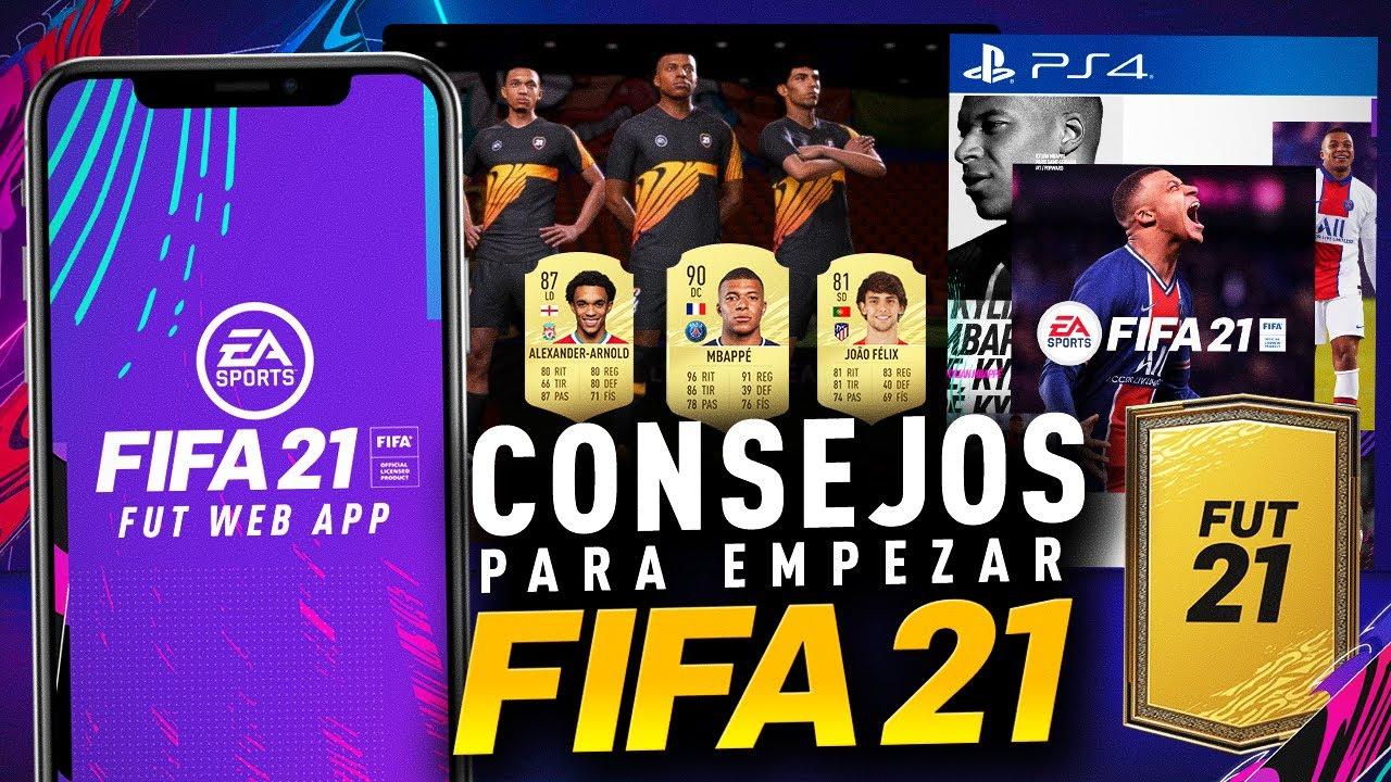 10 CONSEJOS QUE NO SABIAS PARA EMPEZAR MEJOR EN FIFA 21