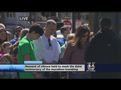 Special Report: Moment Of Silence Marks Third Anniversary Of Boston Marathon Bombings