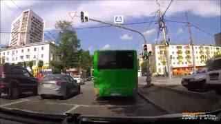 2016-06-26 Екатеринбург Автобусный беспредел на ул Щорса
