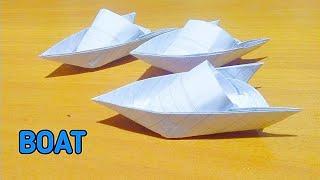 Cara Membuat Perahu Kertas