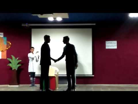 A skit- Ramanujan- a Genius that He Was - Drama Society to celebrate Mathematics Week in Dr.KNMGS