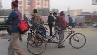 Утренняя суета в столице Индии
