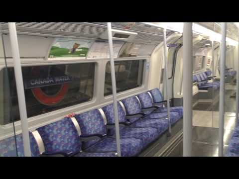 Full Journey On The Jubilee Line (Refurbished) From Stratford To Stanmore