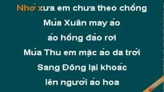 Dua Em Tim Dong Hoa Vang Karaoke - Phạm Duy Phạm Thiên Thư - CaoCuongPro