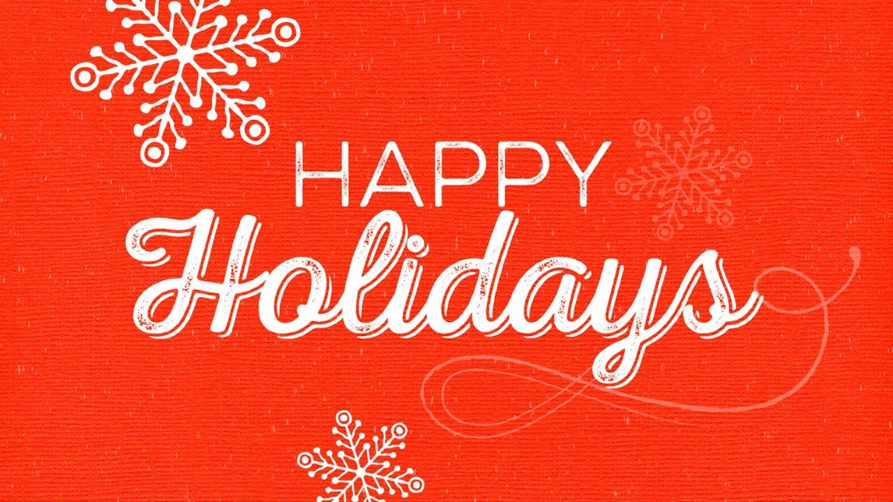 Holiday Card 2015 Youtube