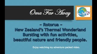 Family fun in Rotorua, New Zealand