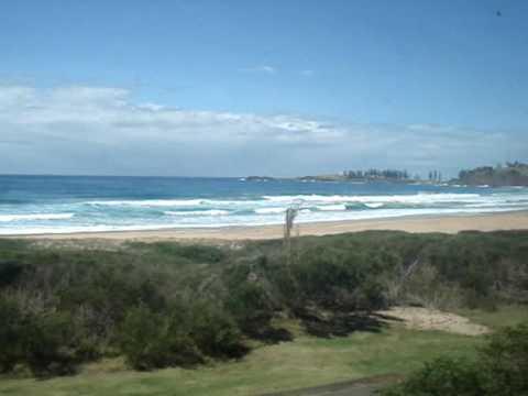 Australia NSW - South Coast Line Scenery - Bombo to Kiama