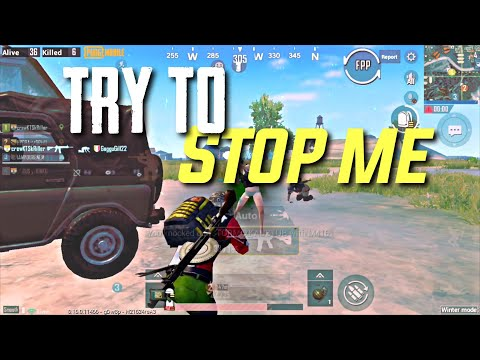 Can't Stop Me Now | kRiller | Pubg mobile