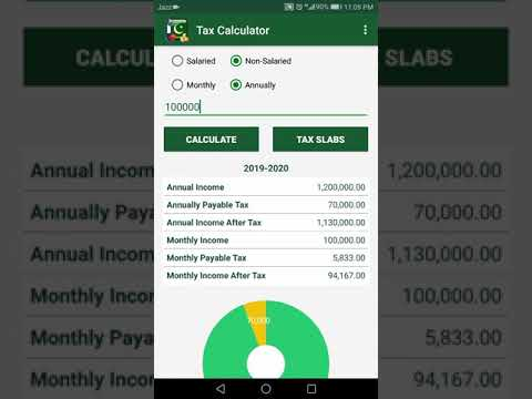 Income Tax Calculator Pakistan 2019 - 2020 - Apps on Google Play