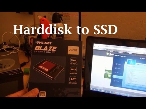Turbo-charge the PC by upgrading hard disk to SSD -  How I did it