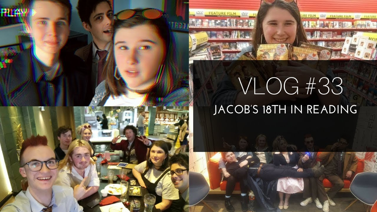 VLOG #33 - RAMBLES IN READING (JACOBS 18TH)