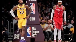 Carmelo Anthony to Lakers could be BLOCKED because of LeBron James   big NBA claim