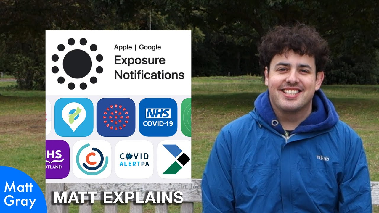 Youtube Thumbnail Image: Are COVID-19 Exposure Alert Apps Spying On You? (NO!)