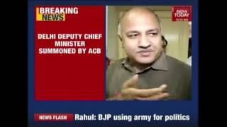 acb summons manish sisodia over irregular appointments in dcw