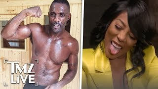 'L&HH' Star Says Idris Elba Is A Sex God | TMZ Live