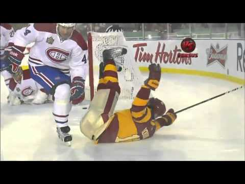 b1084d31d 2011 NHL Heritage Classic  Canadiens   Flames - YouTube