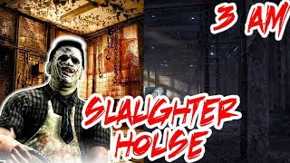 *ATTACKED*  I explored a HAUNTED SLAUGHTER HOUSE at 3 AM AND GOT ATTACKED!
