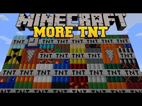 [Special 100 filmów] Minecraft mody 1.6.4 #32 - Too Much TNT - 35 Nowych TnT!