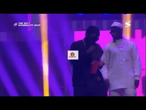 Dice Ailes Performs Otedola at Soundcity MVP Awards 2018