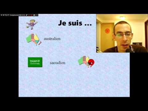 Learn french: nationalities A1