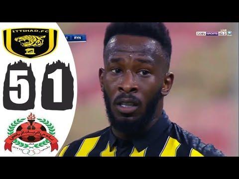 ملخص مباراة الاتحاد السعودي والريان القطري 5-1🔥 عصام الشوالي🔥دوري أبطال آسيا HD