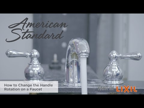 How To Change The Handle Rotation On A Faucet