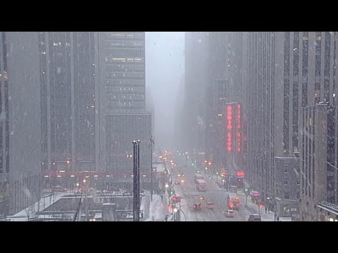 New York City blizzard warning canceled