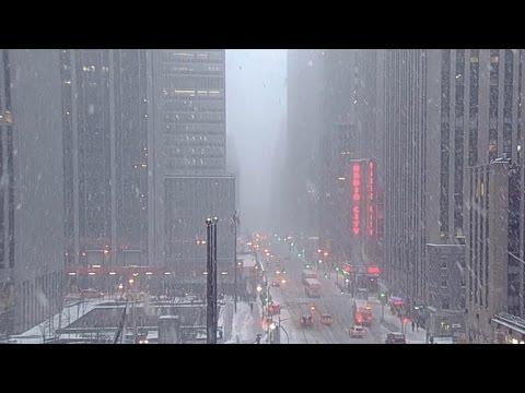 New York City blizzard warning canceled