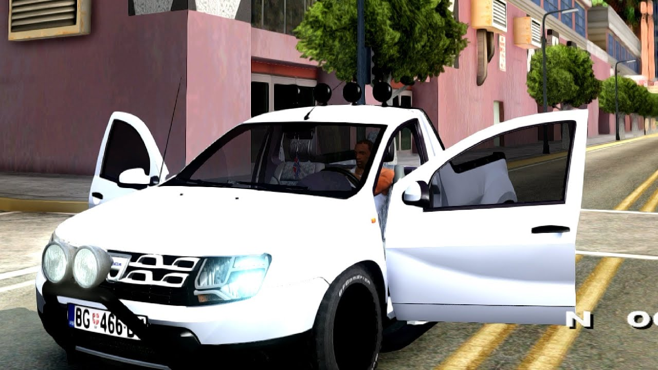 2014 dacia duster pickup gta san andreas youtube. Black Bedroom Furniture Sets. Home Design Ideas