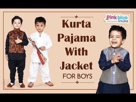 Kurta Pajama With Jacket For Boys Latest Wedding Sherwani Design