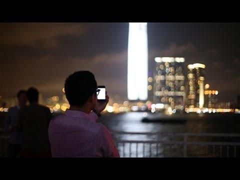 Hong Kong's #1 Skyscraper 'Pulses' at Art Basel
