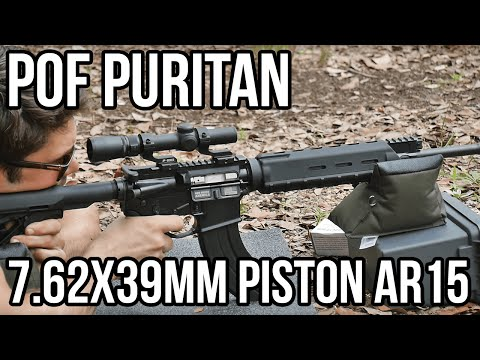 POF Puritan 7.62x39mm Piston AR15 Review