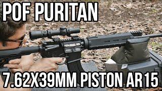 POF Puritan 7.62x39mm Piston AR15 Review
