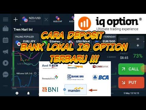 Broker forex yang bisa deposit bank lokal