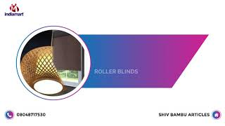 Bamboo Chair And Blind Manufacturer